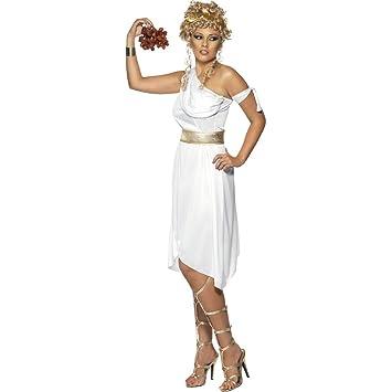 Antike Göttin Kostüm Göttinenkleid Weiß L 44/46 Griechische Göttin ...