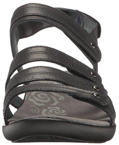 Propet Vrouwen Aurora Wedge Sandaal Zwart