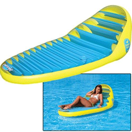 Sportsstuff Banana Beach Lounge - 1 Year Direct Manufacturer Warranty (Lounge Beach Sportsstuff Banana)