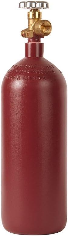 New 20 cu ft Steel Helium Cylinder with CGA580 Valve - Nitrogen - Argon