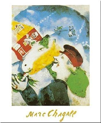 Art Poster Print - Rural Life - Artist: Marc Chagall