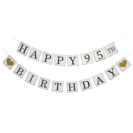Amazon Happy 95th Birthday Banner