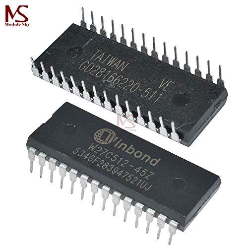 10PCS W27C512 W27C512-45Z DIP IC EEPROM 512KBIT 45NS NEW