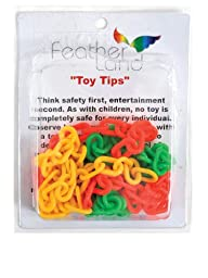 Paradise 1-Inch Plastic Chain Bird Toy,8/pack