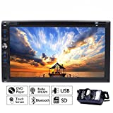 ipod in electronic - Multimedia Automotive Parts Autoradio 2 Din In Dash Headunit iPod TV Car Stereo Auto Radio DVD Player Electronics CD In Deck Car Video LCD Screen logo Remote control Built in Backup Camera
