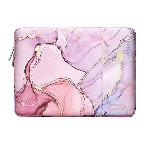 estuche bolso marmolado rosa notebook macbook 13.3 MOSISO