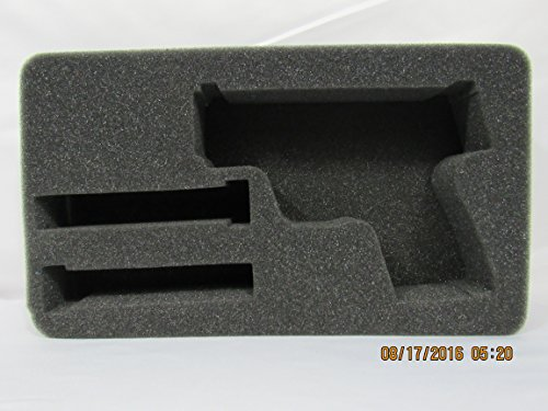 Smith & Wesson Shield Handgun and 2 Magazines Custom Foam Insert for Pelican Case 1170 (Foam - Shield Out Cut