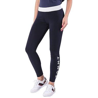 a07a8d0d040821 Tommy Hilfiger Lorna Skinny Leggings for Women - Light Grey Heather ...