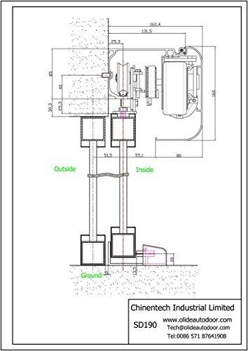 Automatic Door Opener, Electric Sliding Door Operator, Automatic Door Mechanism by Olide (Image #6)