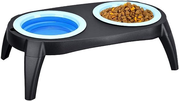 Acheter 17 Couleurs Portable Silicone Pliable Chien Chat Chat Chiot Alimentation Des Animaux De Voyage Voyage Bol Pliable Nourriture Pour Animaux