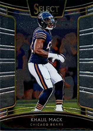 factory price 0bceb 19834 2018 Panini Select #37 Khalil Mack Bears Concourse NFL Football Card NM-MT