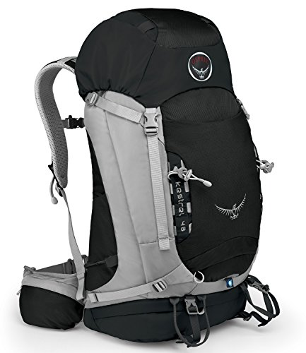 Osprey Packs Kestrel 48 Backpack (Talus Grey MediumLarge)