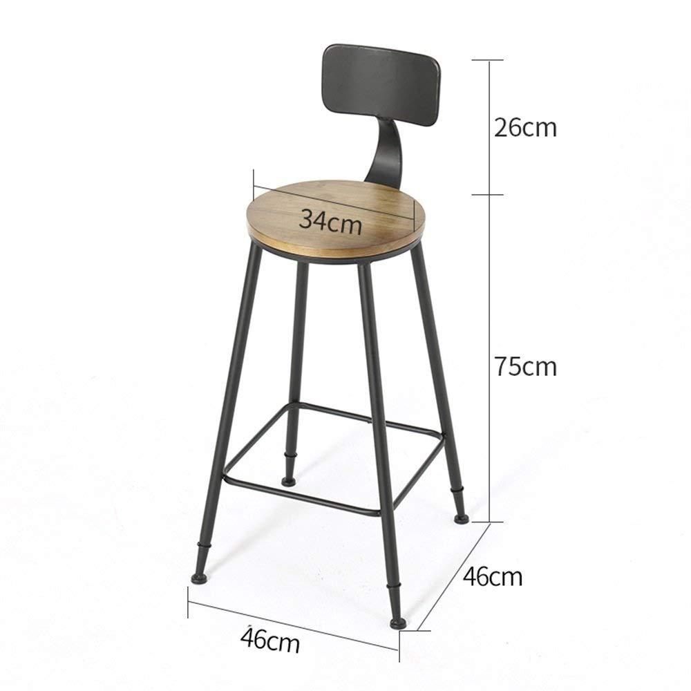Barstol frukoststol hushåll barstolar | barpubpallar | frukostmatstolar | kökspubpallar | sittstol | kontorsstolar | kaffepall | Högpall (färg: #2) nr 1