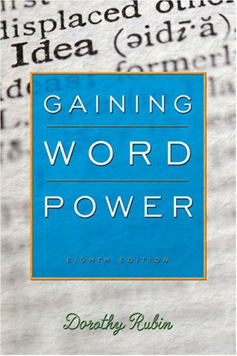 Gaining Word Power, 8/e