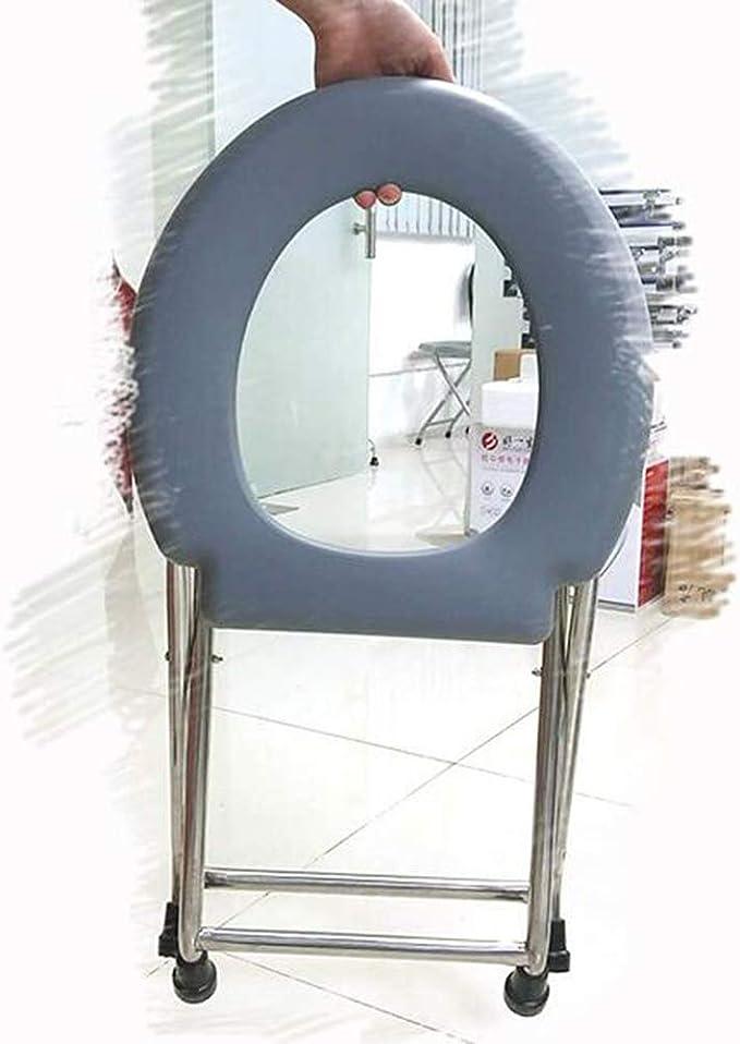 Silla De WC Ancianos Mujer Embarazada Silla De Inodoro De Acero ...