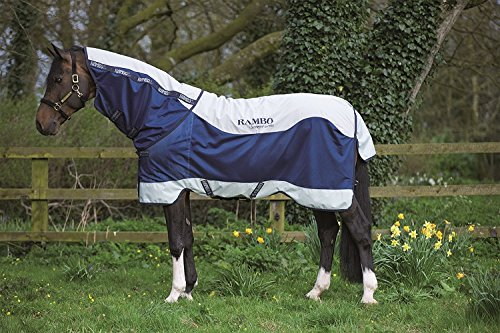 Horseware Ireland Rambo Summer Series Turnout 75 Mavy/Gray