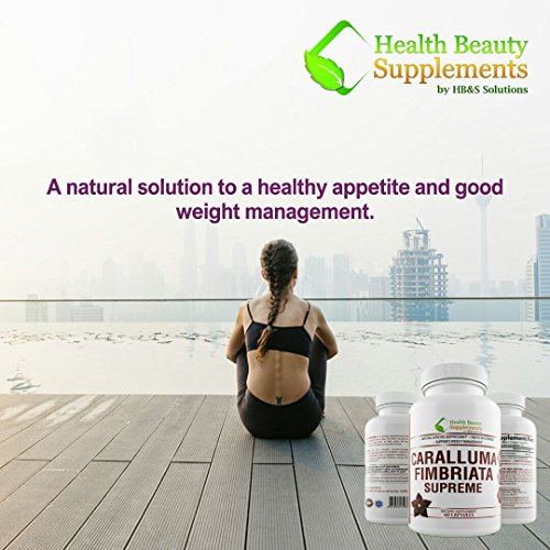 * HYPER POTENCY CARALLUMA * Caralluma Fimbriata 1200 mg - Caralluma Fimbriata For Weight Loss – PREMIUM - Caralluma Fimbriata Organic - Caralluma Fimbriata Extract - FAST ACTING WEIGHT LOSS PILLS