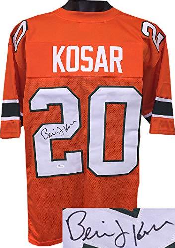 30dac792c Bernie Kosar Autographed Signed Orange TB Custom Stitched College Football  Jersey XL- JSA Authentic