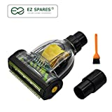 EZ SPARES Mini Turbo Floor Brush Mite Brush Bed Clean Crevices...
