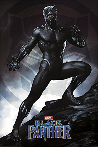 Black Panther - Marvel Movie Poster/Print