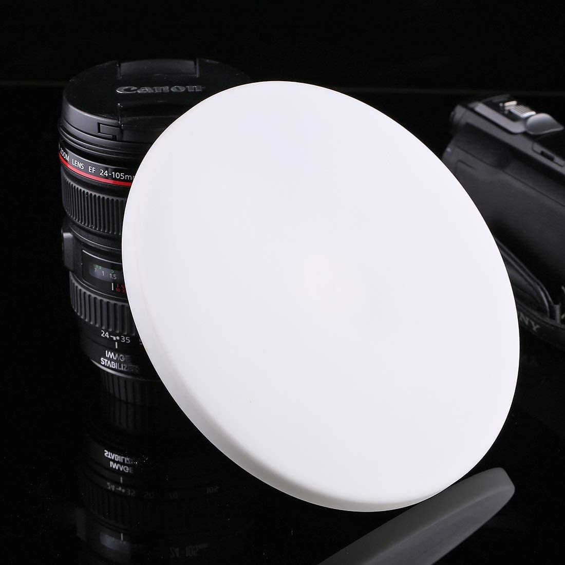 Diameter: 18cm//7inch Durable JINGZ 1//4 Screw Interface Round Tray