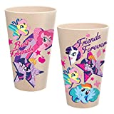 Vandor 42005 My Little Pony 24 Ounce Bamboo Tumblers, 2 Piece Set, Multicolored Review