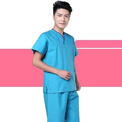 OPPP Ropa médica Ropa médica Bata de algodón Traje médico Uniforme médico Fregado Conjunto Damas Hombres