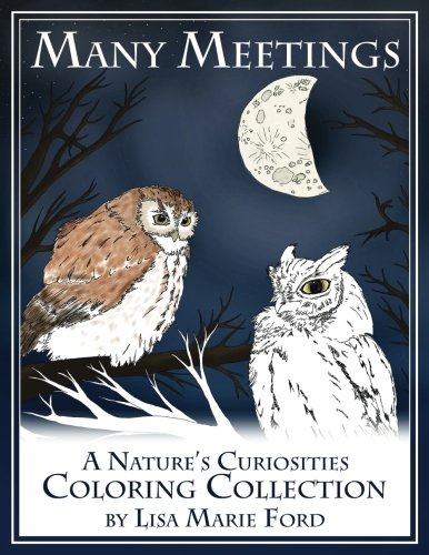 Download Many Meetings: A Nature's Curiosities Coloring Collection (Color Pics By Lis) (Volume 1) pdf