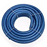 Conext Link 25 FT 4 AWG GA Full Gauge Battery Power Cable Ground Wire Frost Blue OFC Copper