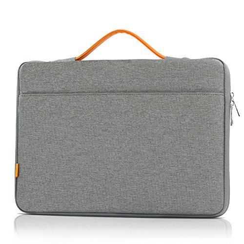 [Half Price Deal] 13 13.3 Inch Laptop Sleeve Bag, iXCC Protective Carrying Case Handbag for iPad Pro 12.9 / MacBook Air / Pro (Retina) / Surface Book And More - Grey