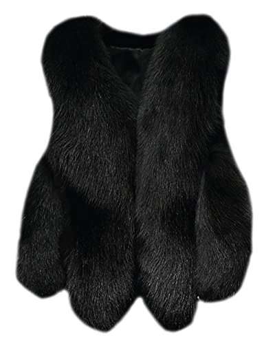 Fourrure De Mariage Châle Femmes Zongsen Manteau Fausse Outerwear Soirée Noir Cardigan En Court Yx1BqSI