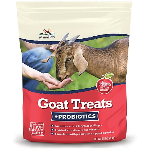 Manna Pro Apple Goat Treats with Probiotics