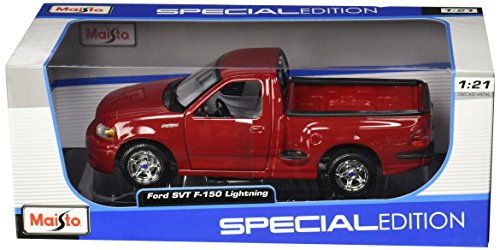 Svt Ford F150 Collectibles (Maisto 1:21 Scale Ford SVT F-150 Lightning Diecast Truck Vehicle)