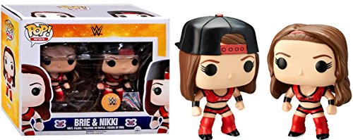 Funko Pop! WWE Exclusive 2 Pack Bella Twins (Brie & Nikki) by Pop