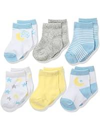 Baby Girls Newborn and Infant 6 Pack Socks