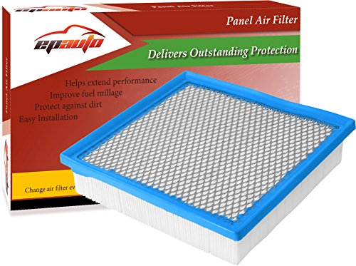 Toyota Avalon Lexus - EPAuto GP075 (CA10755) Replacement for Toyota/Lexus Panel Engine Air Filter for Avalon V6(2013-2017), Camry V6(2012-2017), Highlander V6 Gas(2014-2017), Sienna(2011-2017), ES350(2013-2017)