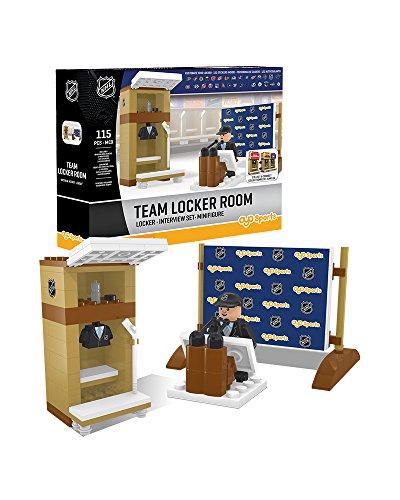 NHL Locker Room OYO Logo with all 30 Team Stickers Mini ()