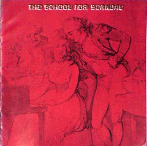 The School For Scandal 1963 Vintage Souvenir Program