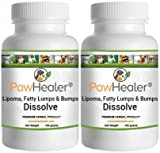 Dissolve Herbal Formula – 2 PACK – Fatty Lumps & Bumps Remedy for Dogs & Pets – 100 grams powder/ea Review