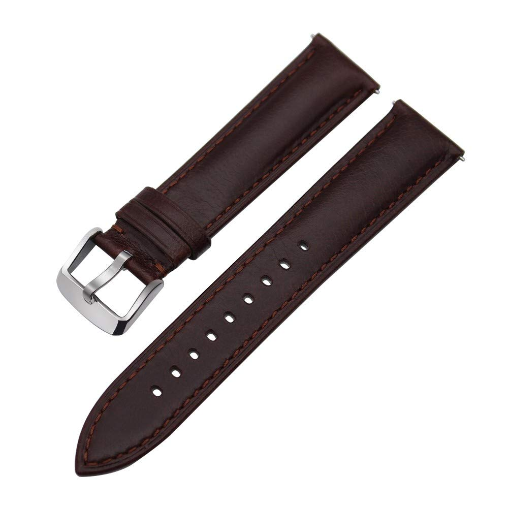 Carolyn Jones Italian Genuine Leather Watchband Quick Release Strap for Straps Wristwatch Watch Band Wrist Bracelet 18Mm 20Mm 22Mm by Carolyn Jones