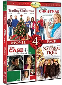 Hallmark Holiday Collection Movie 4 Pack Trading Christmas Lucky Christmas Case For Christmas National Tree by Hallmark
