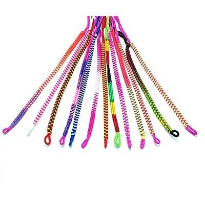 10 unidades pulseras de cuerda con difrente colores: Juguetes y juegos