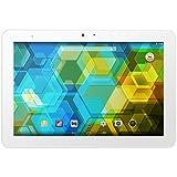 BQ Edison 3 - Tablet de 10.1 pulgadas (WiFi 802.11 a/b/g/n, Bluetooth 4.0, GPS, MediaTek Quad Core Cortex A7 1.3 GHz, 2 GB de RAM, memoria interna de 32 GB, Android 4.4 KitKat), color blanco - (Reacondicionado Certificado por BQ)
