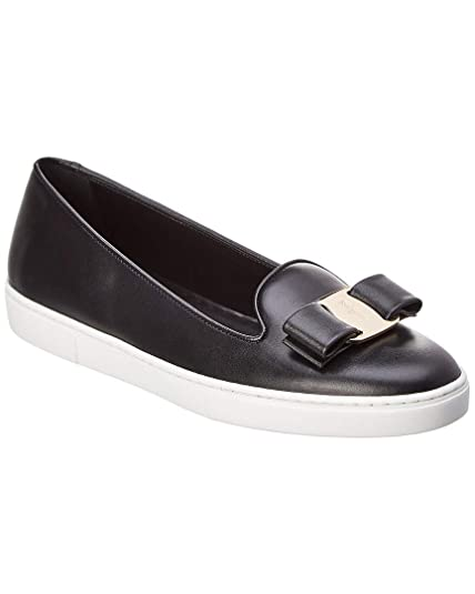 Salvatore Ferragamo Slip on Mujer Nero 38.5 EU: Amazon.es: Zapatos y complementos