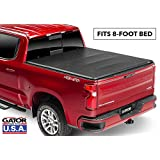 Gator ETX Soft Tri-Fold Truck Bed Tonneau Cover | 59103 | fits Chevy/GMC Silverado/Sierra 2007-13 8 ft Bed | Made in The USA