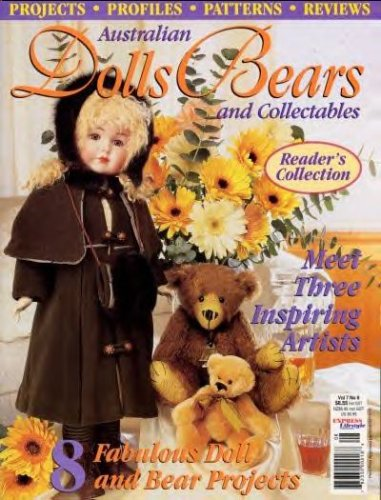 Australian Dolls, Bears and Collectables Magazine Vol. 7 No. 8