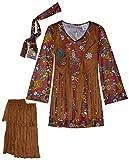Fun World Peace & Love Hippie Costume, Medium 8 - 10, Multicolor
