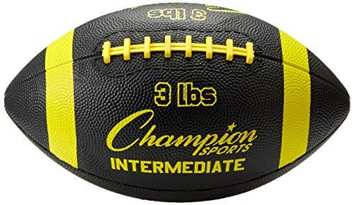 Champion Sports Intermediate Football Trainer, 3-Pound, Blue/Yellow