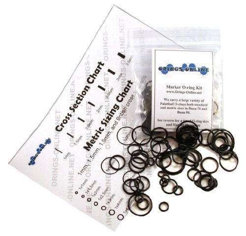 Smart Parts Qev 360 Paintball Marker O-ring Kit - 4 Rebuilds