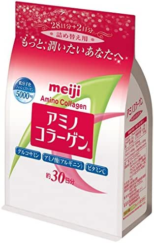 Meiji Amino Collagen Refill (30 Days' Supply)